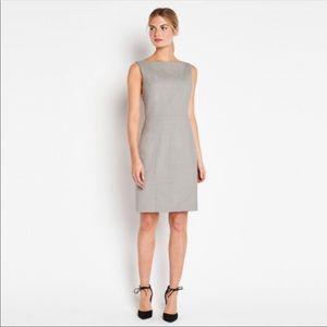 "Of Mercer ""Fifth Avenue"" grey sheath dress"